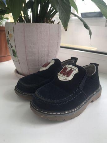 Замшеві туфлі на хлопчика