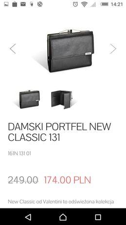 Valentini DAMSKI PORTFEL new classic 131