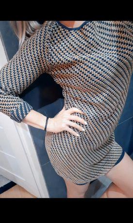 Sukienka sweterkowa rozm M
