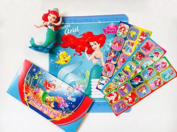 Набор «Русалочка». Ариель. Дисней. The little mermaid. Русалка.