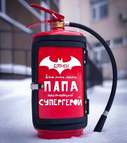 Огнетушитель-бар | Подарок для отца,папы тата, папи | Вогнегасник бар