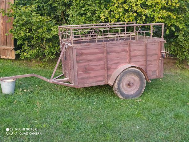 Sprzedam przyczepke wózek do ciągnika