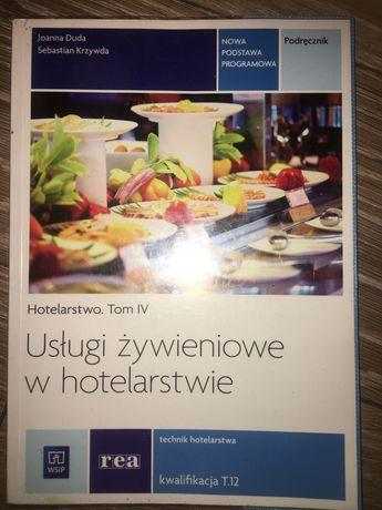 Książka usługi żywieniowe w hotelarstwie