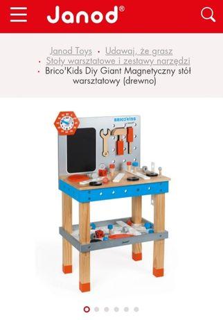 Janod magnetyczny stół warsztatowy dla dzieci J06477 oryginalny