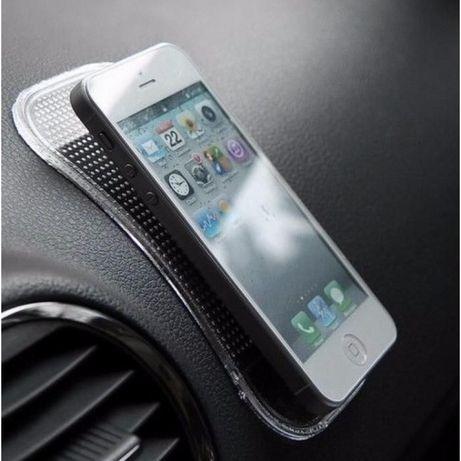 Tapete antiderrapante para telemóvel silicone