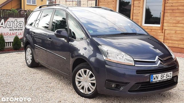 Citroën C4 Grand Picasso 2.0HDI 136KM Manual 7 OSOBOWY Niemcy...