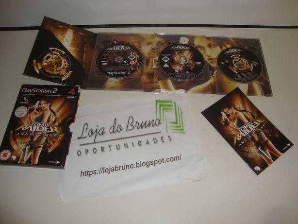 Jogo PS 2 Tomb Raider Anniversary - Completo