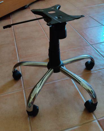 Rodas para cadeira de secretária