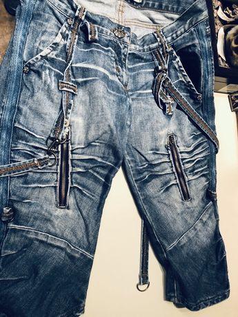 Продам модные джинсовые капри