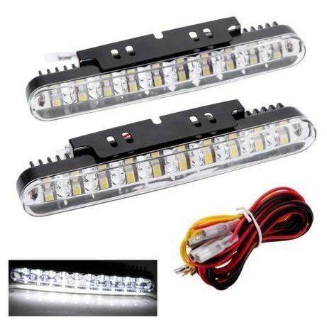 Дневные Ходовые Огни Дхо DRL Лед С Поворотом 30 LED Ланос Ваз