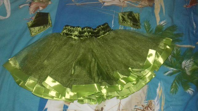 Костюм ёлки, юбка-пачка