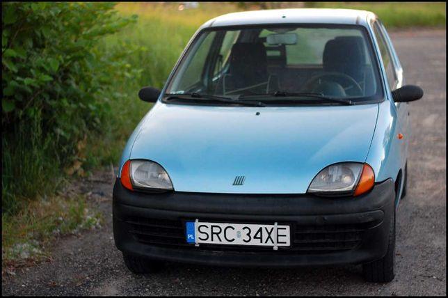 Fiat Seicento - opłacony do listopada / GAZ / LPG - mistrz ekonomii