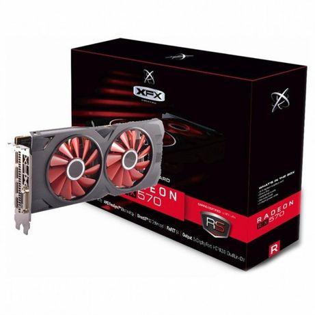 XFX Radeon RX 570 RS 8GB память samsung