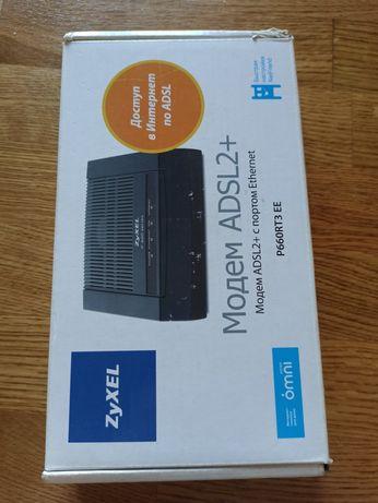 Модем ADSL Zyxel 660RU2 EE (Annex A) ADSL2+ с портом Ethernet