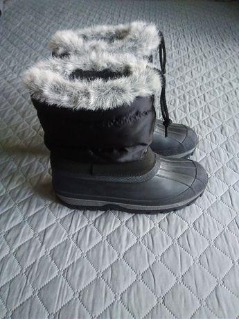 р.35-36 Термо ботинки сапожки зимние сноубутсы дутики резиновые сапоги