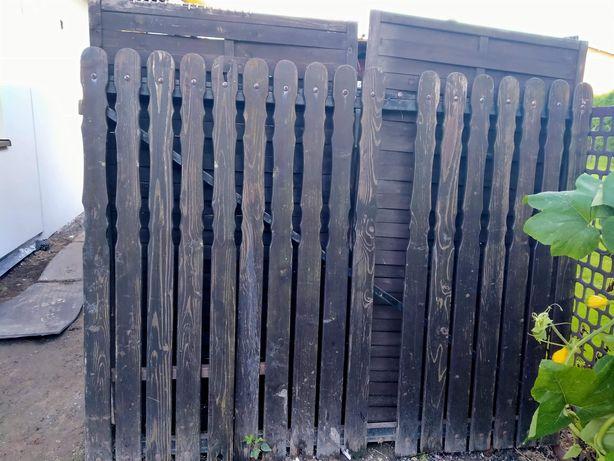 Brama dwuskrzydłowa i furtka