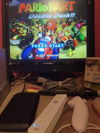 Nintendo Wii 320GB Softmode CFW zestaw + kompatybilność Gamecube