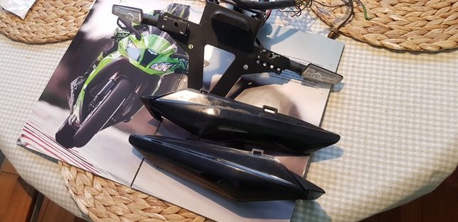 "Uchwyt, ogon, mocowanie tablicy rejestr.""Rizoma"" Kawasaki ZX10R 11-'15"
