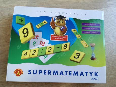 Super Matematyk Maxi gra edukacyjna Alexander liczenie działania cyfry
