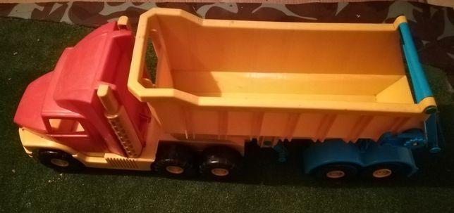 Ciężarówka dla dziecka. Duża
