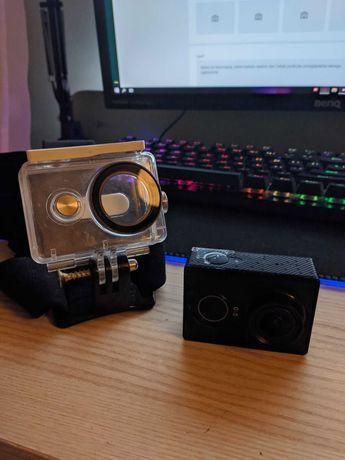 Kamera sportowa 2k YI action + wodoodporny case i uchwyt na głowę