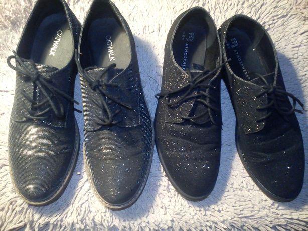 Блестящие ботинки Atmospere (cт.27 см) Catwalk (ст.25,5 см.)