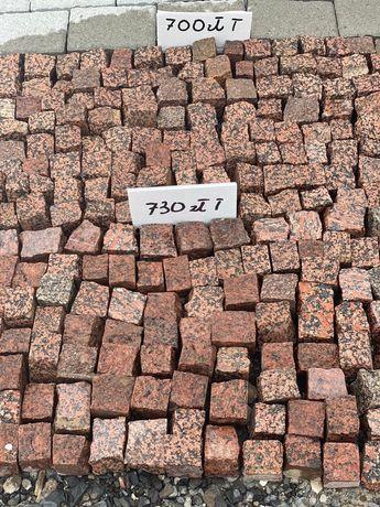 Kostka granitow czerwona granit 4-6 cm Bolesławiec dolnośląskie