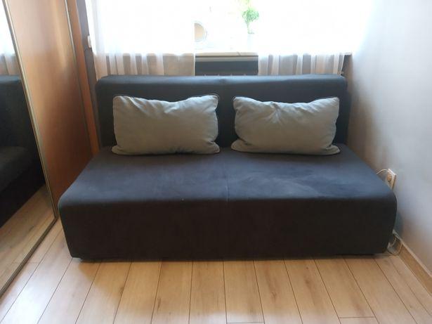 Rozkładana kanapa/sofa/wersalka z poduszkami