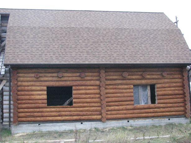 Продам деревянный дом сруб, дикарь (ручная рубка) или обмен