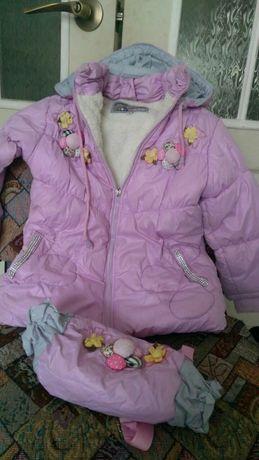 Куртка + сумочка холодный демисезон р. 104 110 116
