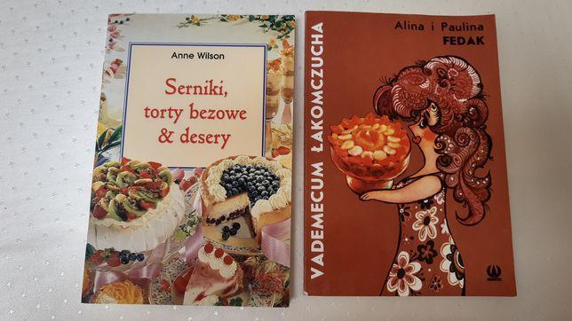 Zestaw: serniki, torty beżowe i desery + vademecum łakomczucha