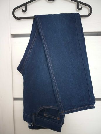 Slim granatowe jeansy Slim fit W28 M 38