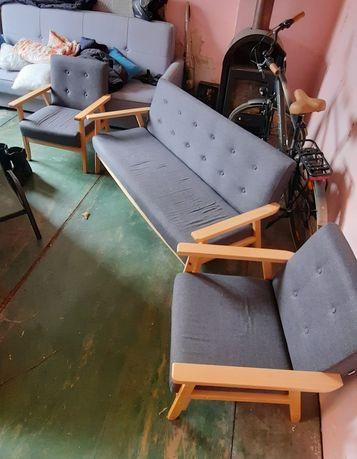 Zestaw mebli sofa + 2 fotele