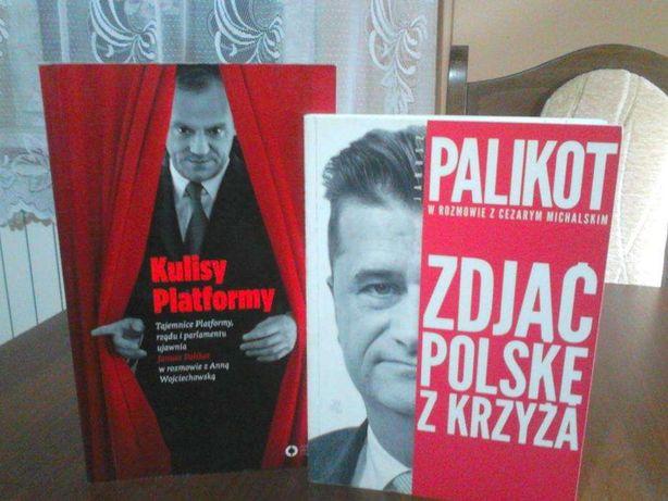 "J. Palikot ""Kulisy Platformy"", "" Zdjąć Polskę z krzyża"""