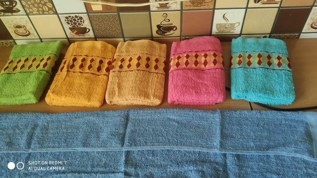 Новые полотенца для лица 50*90см