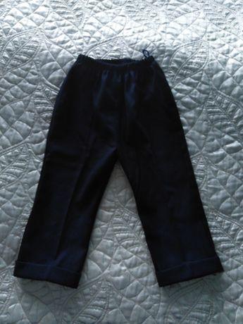Spodnie garniturowe rozm. 80