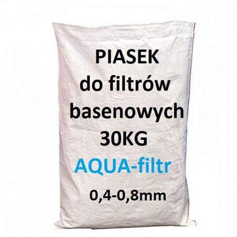 Piasek do basenu filtrów basenowych 30 Kg pomp piaskowych 0,4-0,8mm