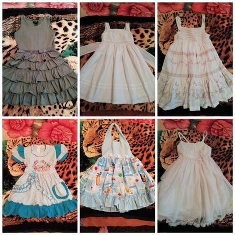 Платья девочке 4-5 лет