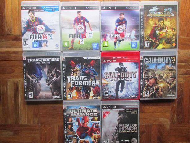 Lote de 4 jogos PS3