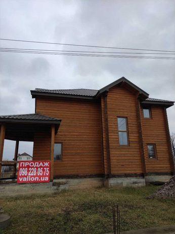Продам дом (сруб) с участком 12 соток в с. Хотов Цена 77000 у.е.