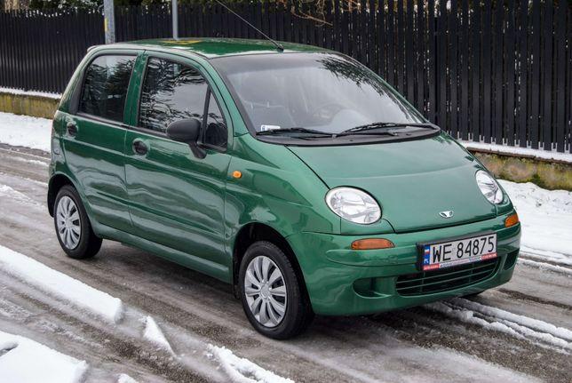 Daewoo Matiz 0.8 2002 r. wspomaganie 75 tys przebiegu.