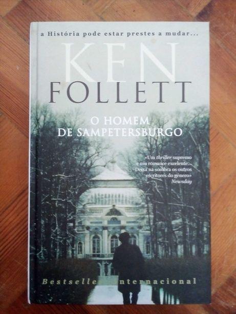 Livro: O Homem de Sampetersburgo - Ken Follet