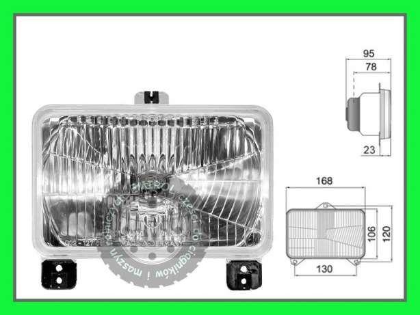 Lampa reflektor przedni Massey Ferguson 3065,3080,3075,3090,3095,3050