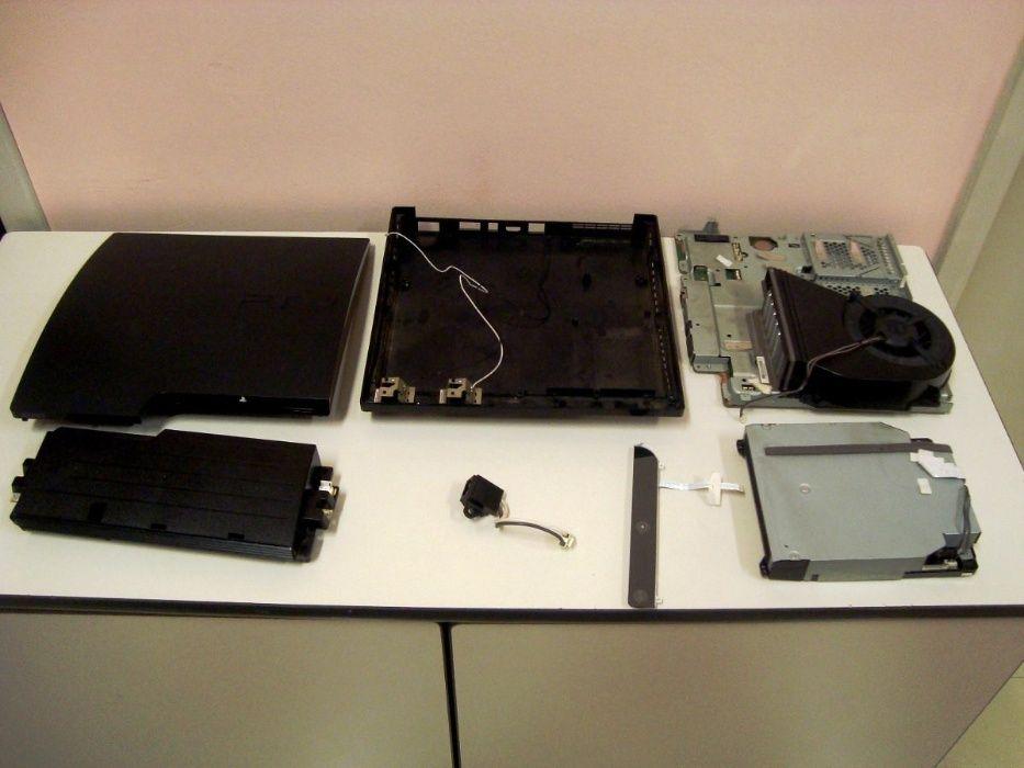 PS3 Slim - Peças Vouzela E Paços De Vilharigues - imagem 1