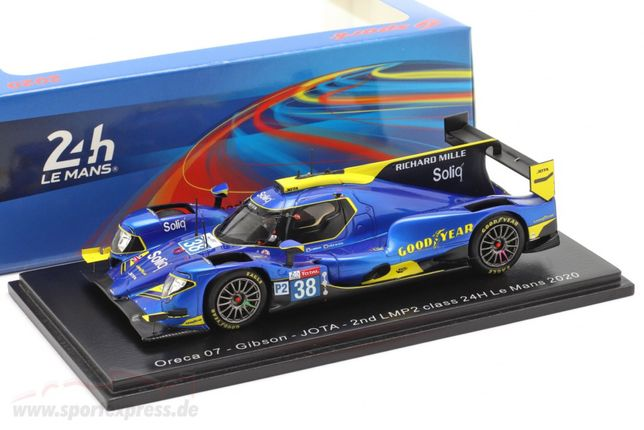 Spark - Orecq 07 Felix Da Costa LMP2 Class 24h Le Mans  2020 1/43
