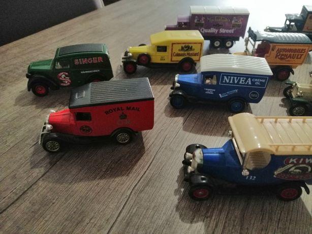 Carrinhas coleção empresa entregas