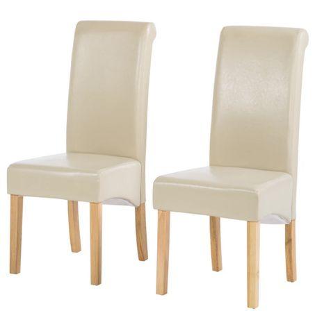 Krzesło tapicerowane do kuchni salonu Nello 2 szt. M001