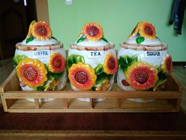 Баночки, емкости для сыпучих, чая, соли