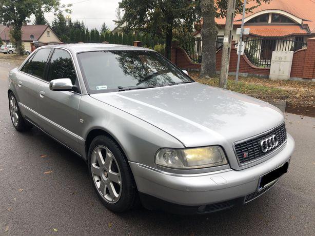 Audi S8 D2 Lift 2000 rok 360 km mocno doinwestowana! 1 wlasciciel !