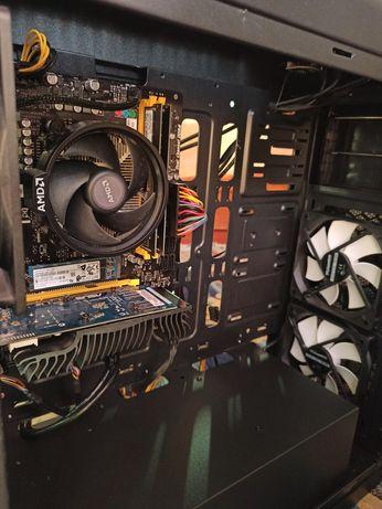PC Desktop Ryzen 8GB Ram SSD 256GB